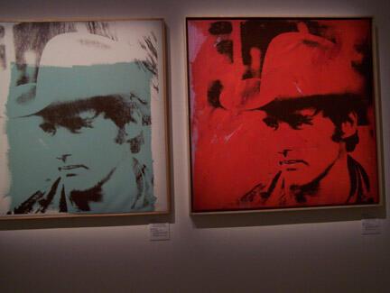 Dennis Hopper par Andy Warhol, 1971