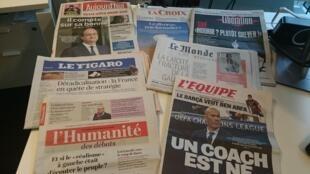 Diários franceses 06.05.2016
