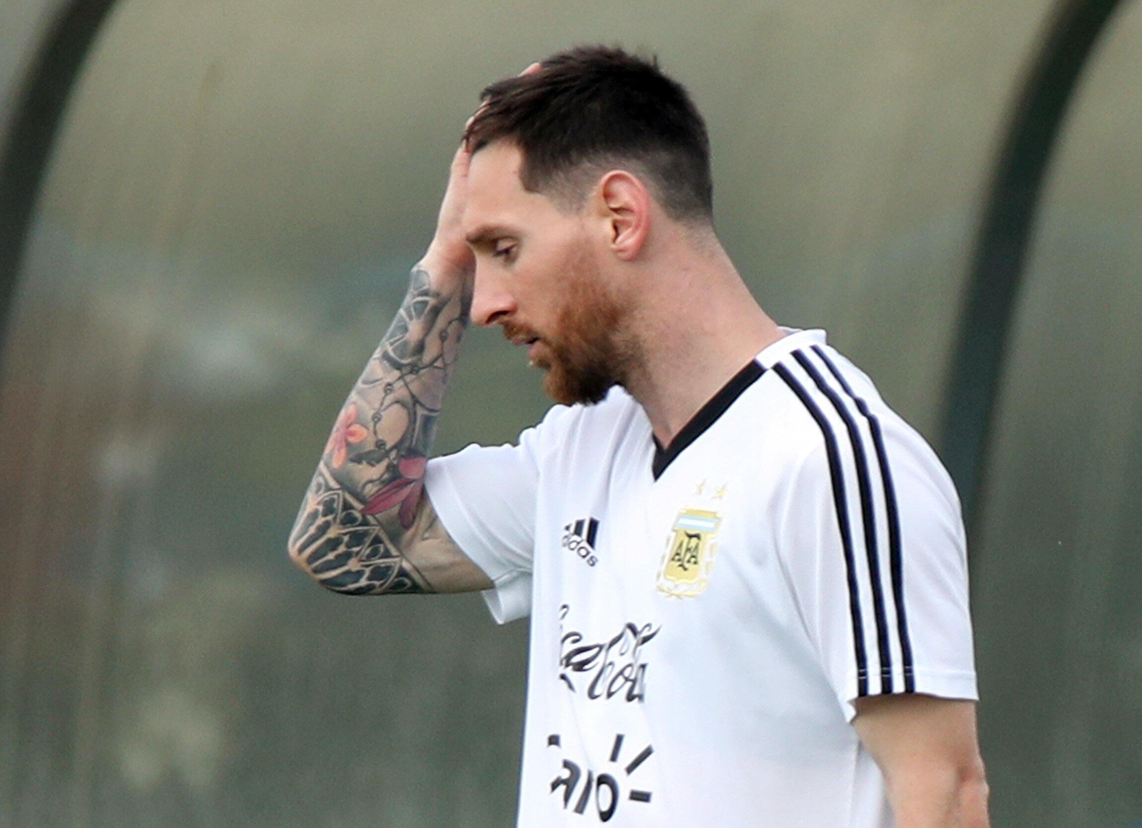 Nyota wa Argentina, Lionel Messi.