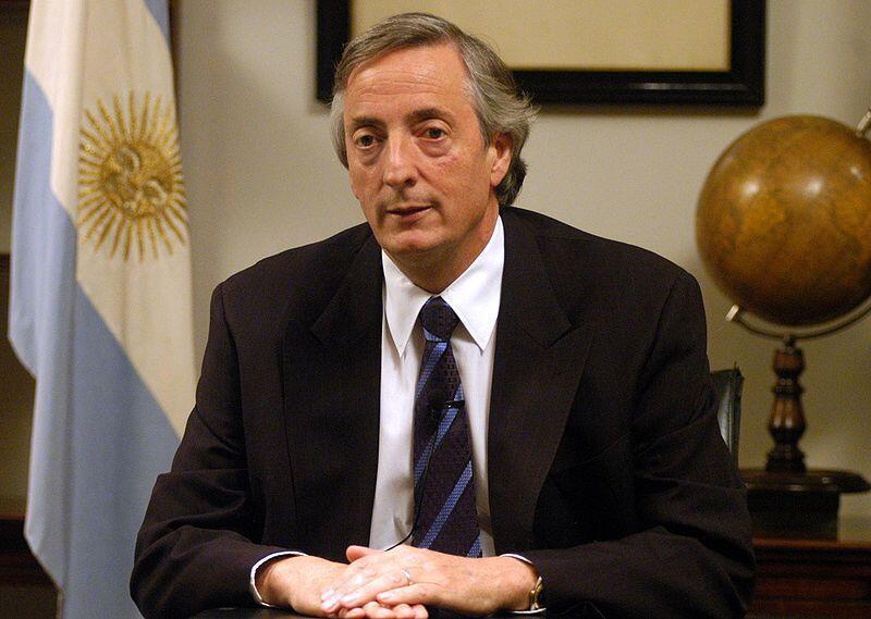 Morreu hoje, aos 60 anos, o ex-presidente da Argentina, Néstor Kirchner.