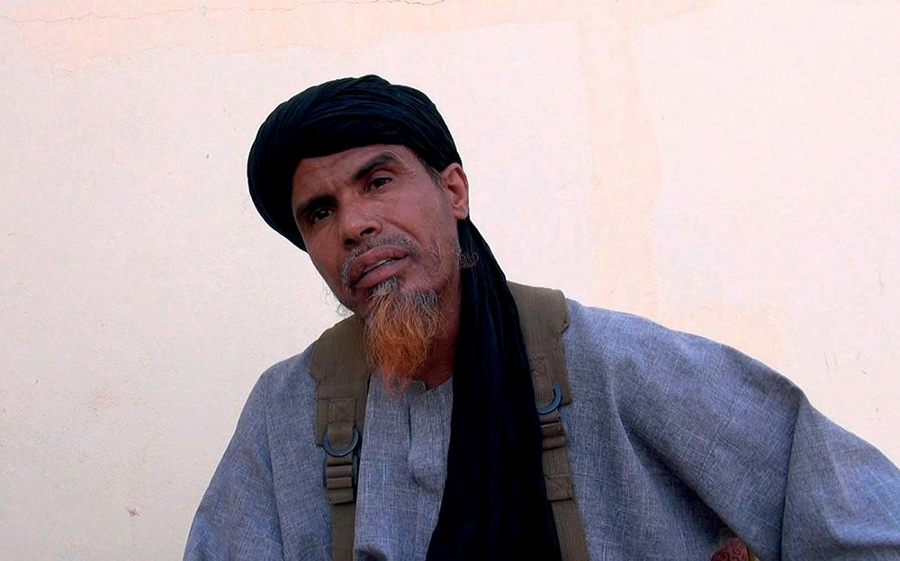 Omar Ould Hamaha, leader d'Ansar al-Charia dans « Salafistes », un documentaire de François Margolin et Lemine Ould Salem.