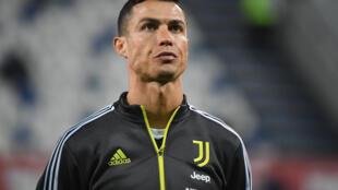 Dan wasan Juventus Cristiano Ronaldo