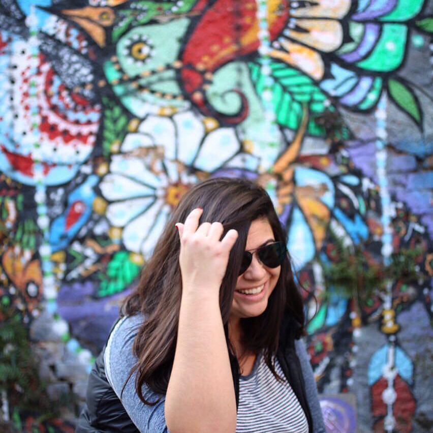 Renata Larroyd sempre gostou de fotografar.