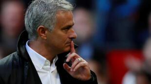 Jose Mourinho, entraîneur de Manchester United, en septembre 2017.