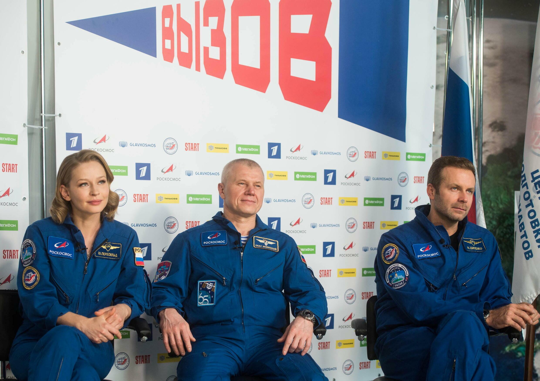 Roscosmos - Oleg Novitskiy - Yulia Peresild - Klim Shipenko