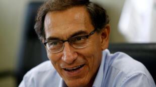 Martin Vizcarra doit assurer l'intérim de la présidence au Pérou, suite à la démission de Pedro Pablo Kuczynski.