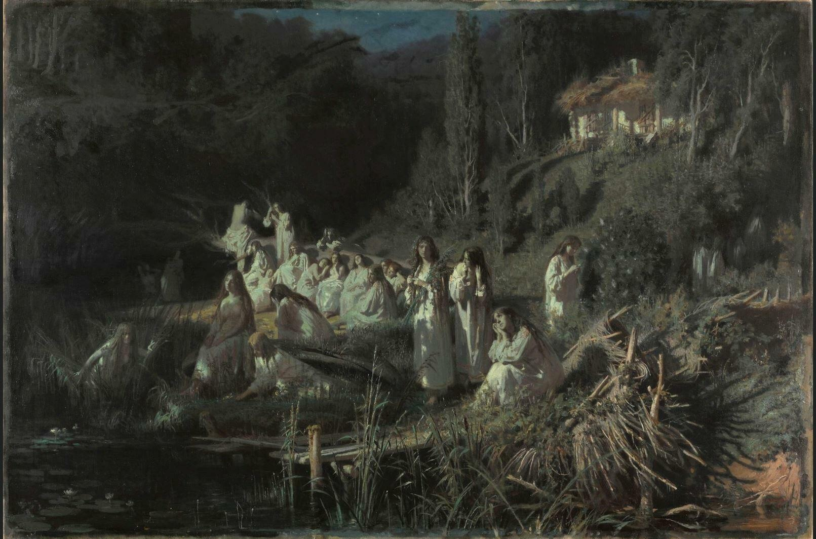 Иван Крамской. «Русалки». 1871