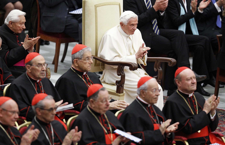 Папа Римский Бенедикт XVI, Ватикан, 20 апреля 2012 года