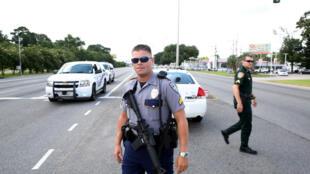 Polícias de Baton Rouge, capital da Luisiana