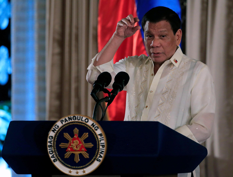 Tổng thống Rodrigo Duterte tuyên bố ngày 17/10/2017 là thành phố Marawi đã được « giải phóng khỏi ảnh hưởng của khủng bố ».