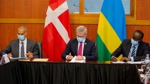 Dinamarca Ruanda acordo
