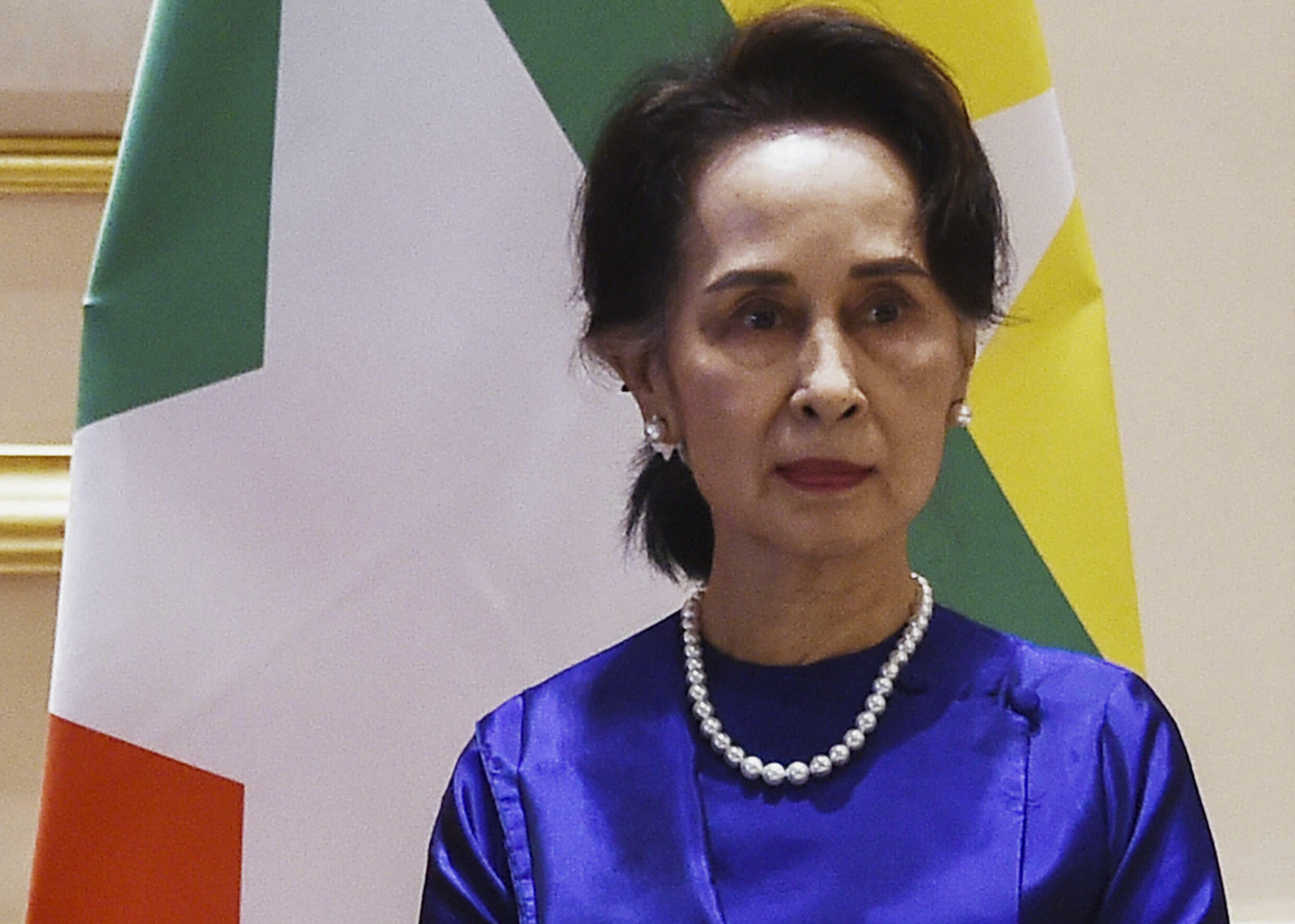 Myanmar  leader Aung San Suu Kyi has been detained since February 1 and faces a string of criminal charges