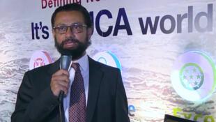 Naeem Zamindar, ministre d'Etat et président de l'agence pakistanaise pour l'investissement. (capture d'écran)