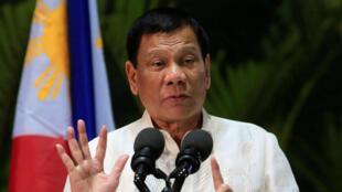 Raisi wa Ufilipino Rodrigo Duterte