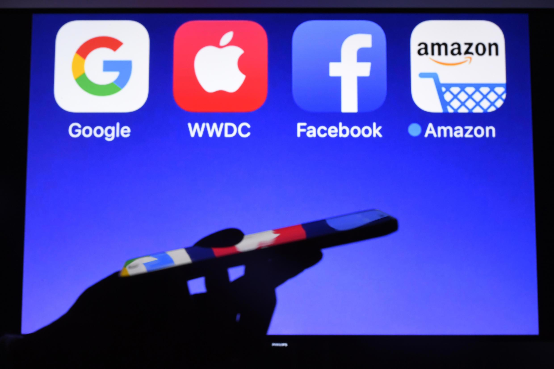數字巨頭GAFA: 谷歌 蘋果 臉書 亞馬遜