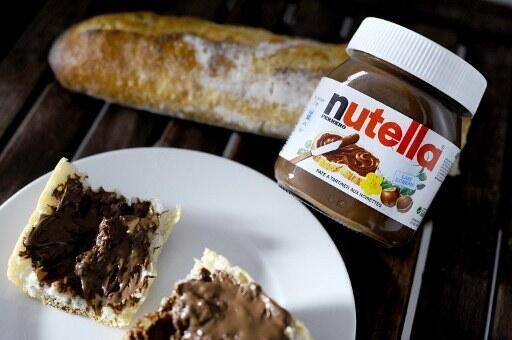 Nutella is 20 per cent palm oil
