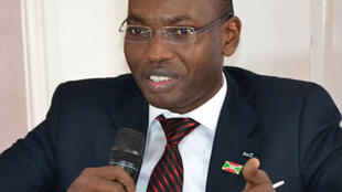 Willy Nyamitwe, conseiller du président burundais Pierre Nkurunziza.