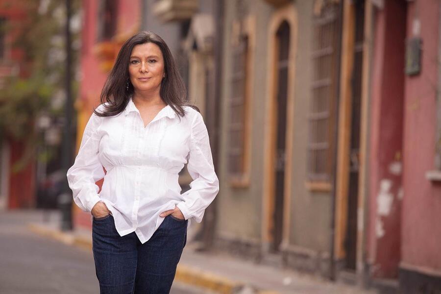 "Carmen Romero de ""Santiago a mil"""