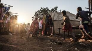 Un marché de la ville d'Asosa, chef-lieu de l'État régional de Benishangul-Gumuz (image d'illustration).