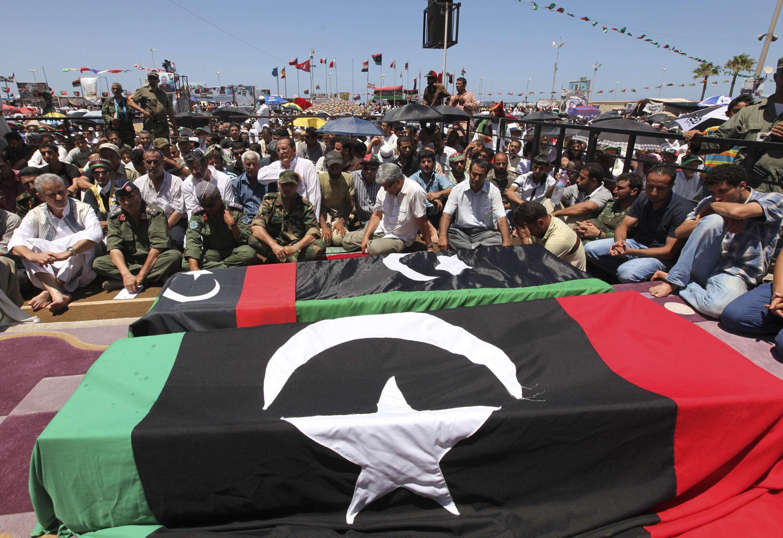 'Yan tawayen Libya.