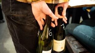 Taller de cata de vinos organizado por la asociación Œnologouine.