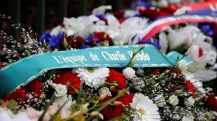 Во Франции вспоминают жертв январских терактов 2015 года