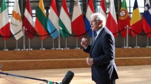 歐盟外交與安全政策高級代表兼歐委會副主席博雷利資料圖片