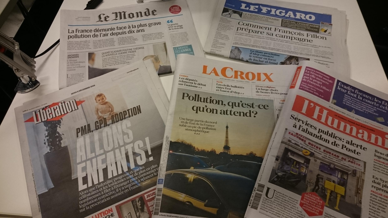 Diários franceses 08.12.2016