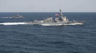 Khu trục hạm USS Lassen.