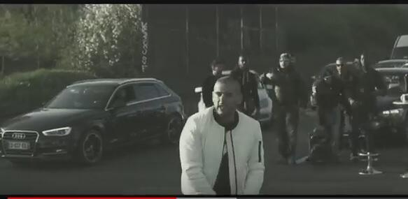A screenshot from the Sofiane video