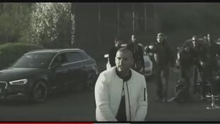 A screenshot from the Sofiane video
