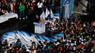 Biểu tình chống tổng thống Macri tại Buenos Aires, ngày 29/04/2016.
