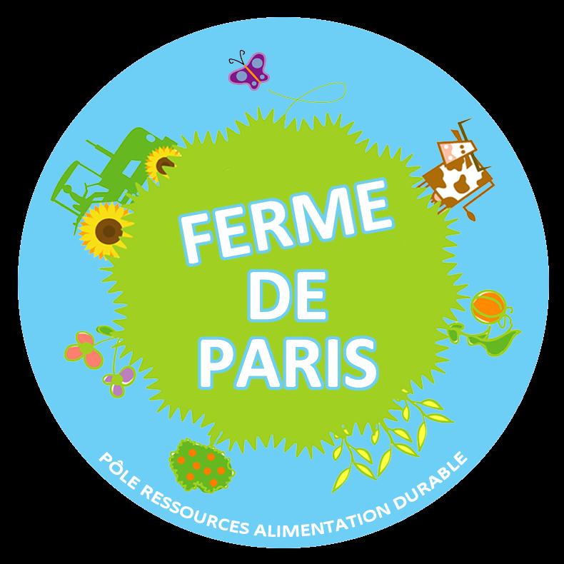 Logo de la Ferme de Paris, située dans le bois de Vincennes.