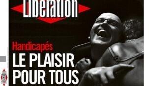 Capa do jornal francês Libération (14/05).