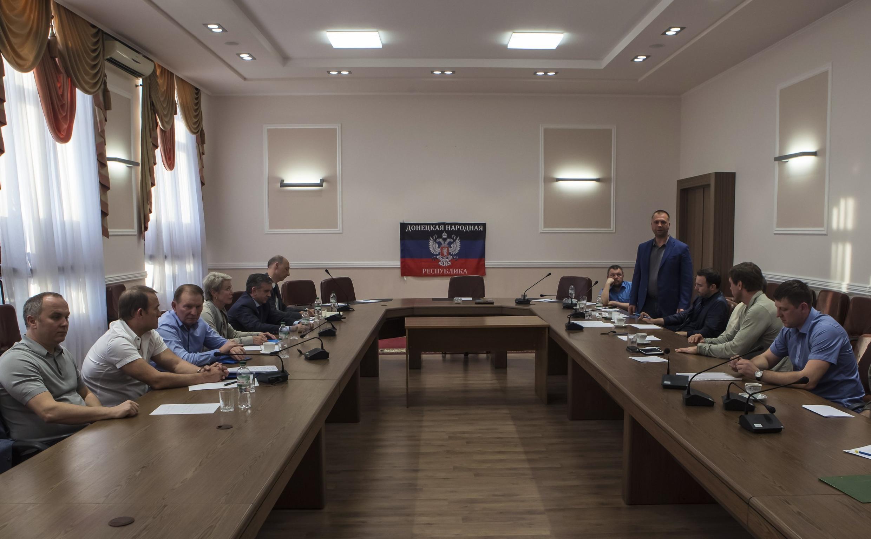Переговоры в Донецке 23/06/2014