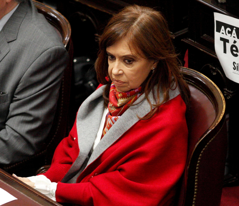 A senadora e ex-presidente argentina Cristina Fernandez de Kirchner depõe hoje em Buenos Aires.