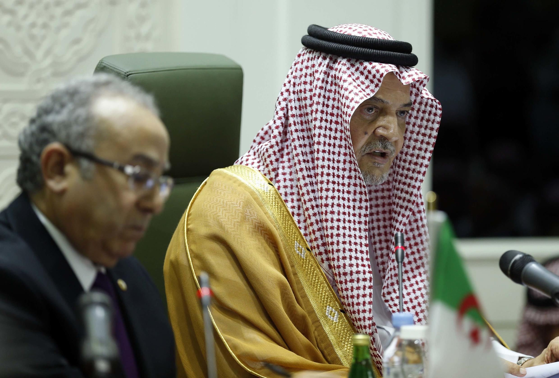 شاهزاده سعود الفیصل، وزیر خارجه عربستان سعودی