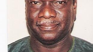 Mamadou Diop «Castro» (archive), leader syndicaliste sénégalais, ancien responsable de l'Uden, Union démocratique des enseignants du Sénégal.
