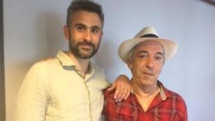 Aziz Chouaki et Hovnatan Avedikian.