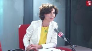 Dominique Carlac'h, vice-présidente et porte-parole du Medef.