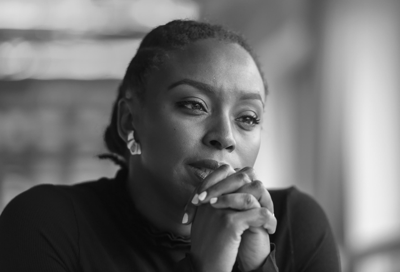 L'écrivaine nigériane Chimamanda Ngozi Adichie, une des figures du féminisme africain.