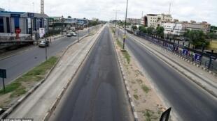 Lagos est sous confinement pour lutter contre le coronavirus.