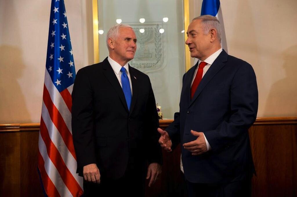 Le vice-président américain, Mike Pence, s'est entretenu, le lundi 22 janvier 2018, avec le Premier ministre israélien, Benjamin Netanyahu.