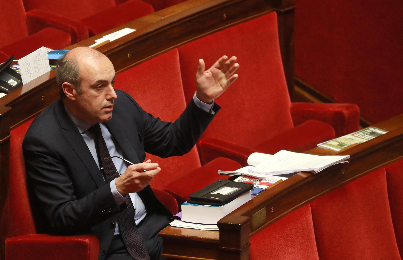 Le député Olivier Marleix, à l'Assemblée nationale, en février 2020.