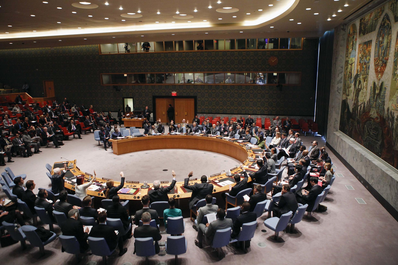 Conseil de sécurité de l'ONU à New York