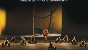 """""""Martha Graham Memórias"""" do brasileiro José Possi Netto, em Paris, no Teatro de la Porte Saint Martin."""