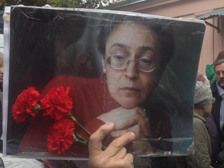 Nữ phóng viên Nga Anna Politkovskaia.