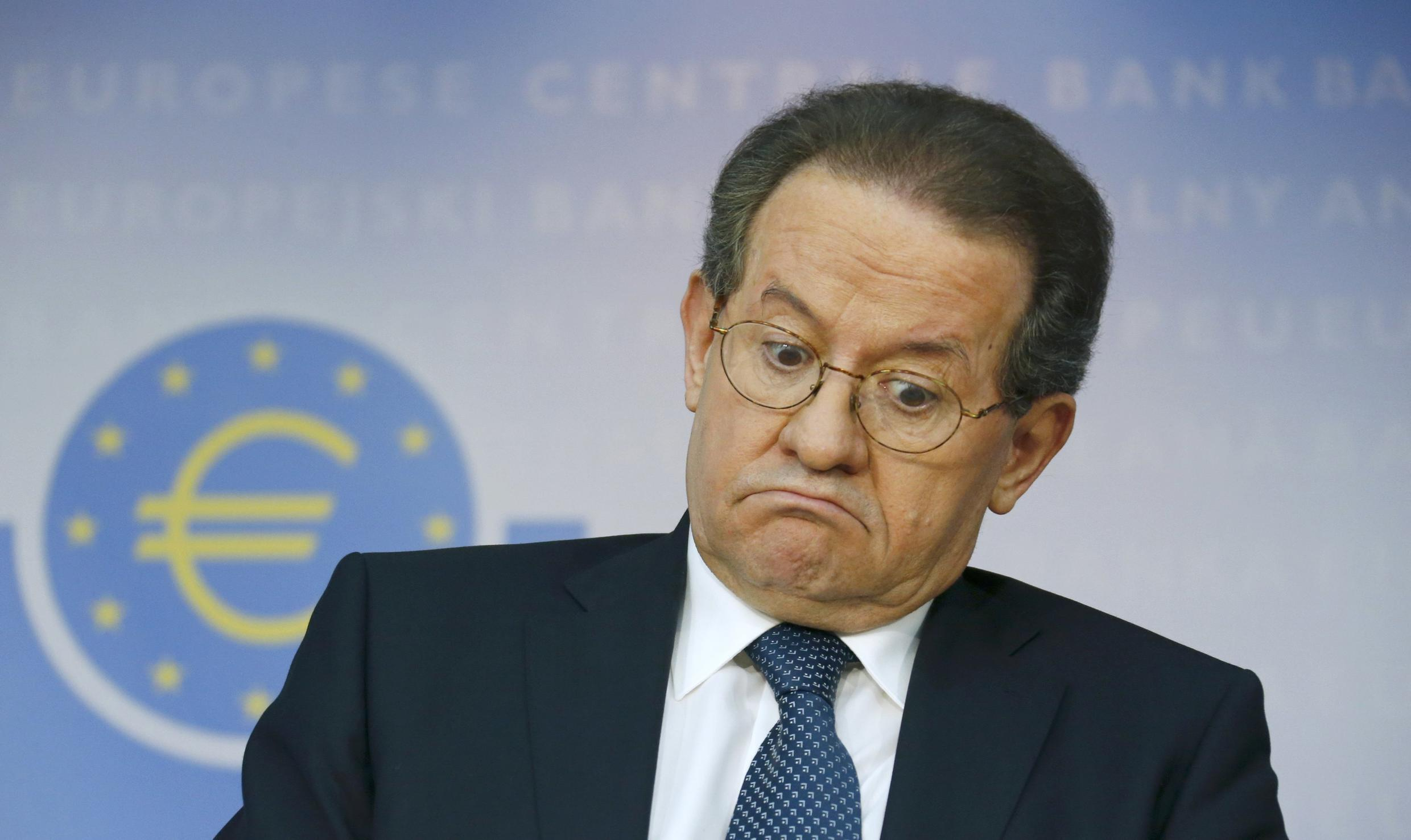 European Central Bank (ECB) Vice President Vitor Constancio attends a news conference at the ECB in Frankfurt October 26, 2014.