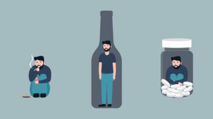 La situation particulière du confinement a favorisé les addictions et fragilisé davantage les personnes dépendantes ou en sevrage.