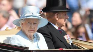 La reine Elisabeth II, le 17 juin 2017 à Londres.